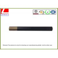CNC turning and blackening brass shaft