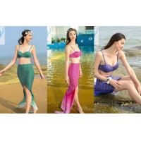 China Plus Size Mermaid Tail Bathing Suit Slim Backless Bikini Beachwear Quick Dry on sale