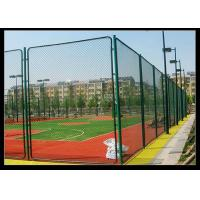 Buy cheap Green Color PVC Coated Wire Mesh Fencing Used For Football Sport Court Fence from wholesalers