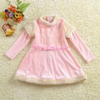 Buy cheap free sample! baby apparel custom made elsa princess dress costume for party wear frocks from wholesalers