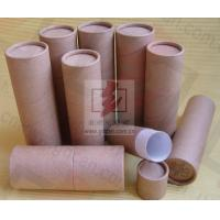 Buy cheap Cylinder Wine Bottle Presentation Box / Cardboard Wine Tube Gift Box from wholesalers