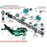 Buy cheap Waste/Used Tire Recycling Machine, Tire Recycling Machine from wholesalers