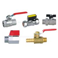 Buy cheap Pneumatic Accessories BV Brass Ball Valve 25bar With Both 1/4 Female Thread from wholesalers