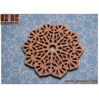Buy cheap Wood Snowflake Bead, Wood pendant 38mm - 2pc christmas craft tree decoration from wholesalers