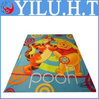 Buy cheap bear printed polar fleece blankets king size for kids wholesale china from wholesalers