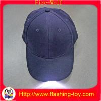 Buy cheap 100% Cotton Customized promotional Gift LED Flashing Cap, Hats HL-B5122 from wholesalers