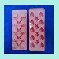 Buy cheap silicone tray for chocolate ,fashionable silicone ice cube tray product
