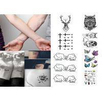 Buy cheap Custom long lasting removable waterproof  temporary tattoo sticker for body from wholesalers