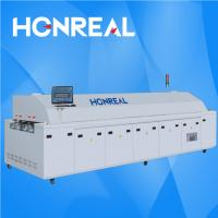 Buy cheap Factory price SMT chip mounter Assembly Line Lead-Free Hot Air Reflow oven from wholesalers