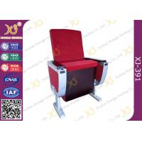 Buy cheap Aluminum Alloy Leg Cinema Theater Auditorium Chairs With Full Size Dual Folding Dining Table from wholesalers
