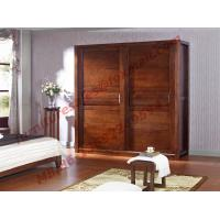 Buy cheap Sliding Doors Wardrobe in Solid Wood Bedroom Furniture Sets product