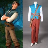 Buy cheap Prince costumes Wholesale Custom Made Tangled Prince Flynn Rider Cosplay Costume For Party from wholesalers