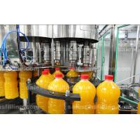 Buy cheap PET Bottle Orange Juice Filling Machine , Beverage Automatic Bottling Line from wholesalers