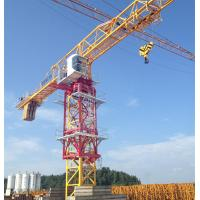 Buy cheap construction site Topless Tower Crane with 10 Ton capacity and 60m Jib length from Wholesalers