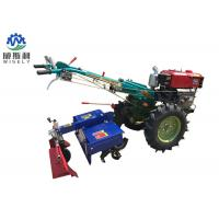 Buy cheap 8-25 Hp Diesel Walk Tractor Small Farm Equipment With Planter Plough Ridger Trailer from wholesalers