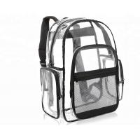 Buy cheap PVC Stylish Toddler School Book Bags , Kindergarten Book Bags Multi Pocket With Strap from wholesalers