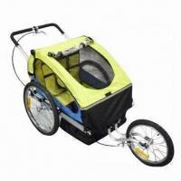 Buy cheap 2-in-1 Baby's Bike/Trailer/Jogger, Aluminum Frame with Anodizing Finish from wholesalers