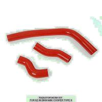 Buy cheap Red Car Silicone Hoses  Kit For 02-06 Bmw Mini Cooper Type S from wholesalers