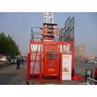 Buy cheap 16 Persons 4tons building construtction hoist rack pinion goods material lift elevators from wholesalers