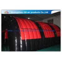 Buy cheap Airtight Inflatable Air Tent Shelter for Outdoor Running Games 0.9mm PVC Tarpaulin product