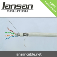 Buy cheap Network cable Cat6 100% Copper Indoor / Outdoor SFTP Lan Cable PVC/LSZH Jacket 305m HDPE Insulation from wholesalers
