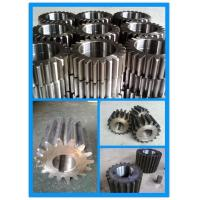 Buy cheap Ball Mill 42CrMo4 Steel Teeth Hardened Wheel Gear Pinion from wholesalers