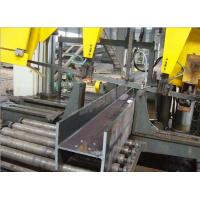 Buy cheap Touch Screen CNC Beam Drilling Machine , CNC Rotation Angle Beam Saw Machine from wholesalers