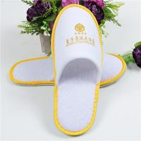 Buy cheap Soft Comfortable Disposable Hotel Slippers Common Type Color Custom For Indoor product
