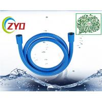 Buy cheap Stainless Steel Double Buckle Extra Long Shower Head Hose Bathroom Handheld Metal Chrome Flexible Shower Hose from wholesalers