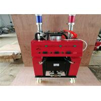 Buy cheap Red Shell Polyurethane Spray Machine 1 / 1 Standard Raw Material Mix Proportioning product