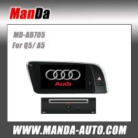 Buy cheap double din car multimedia for Audi Q5 ( 2009-2013 )/ A5 car gps navigation system satellite radio from wholesalers
