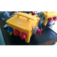Waterproof Portable Distribution Box Customized Yellow ABS Power House