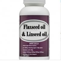 Buy cheap Wholesale Organic Bulk Flaxseed Oil Softgel Capsule flaxseed oil and linseed oil diet from wholesalers