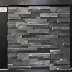 Buy cheap Slate Culture Stone Black Slate Stone Wall Rockface Cladding CS-197 from wholesalers