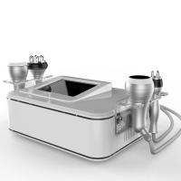 Buy cheap 4 handles 100 w 40 K focused cavitation tripolar multipolar bipolar rf machine for beauty spa in factory price from wholesalers