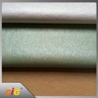 Buy cheap Width 137cm PVC PU Synthetic Leather Imitation Leather Like Fabric product
