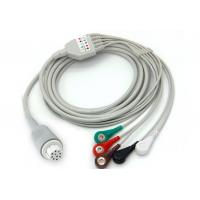 Datex AS/3 CS/3 S/5 ECG Patient Cable 3 / 5 Leads Clip One Piece Series