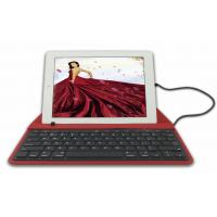 Buy cheap Red Leather iPad Air Keyboard Case PU Leather For Ipad CPIC product