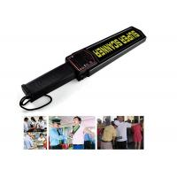 Buy cheap 9V Subway / Airport Hand Held Metal Detector Body Scanner High Sensitivity from wholesalers