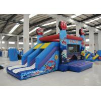 China Hot sale inflatable car house jumping PVC material inflatable jumping house 4 in 1 inflatable bouncy house for sale on sale