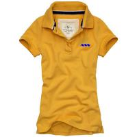 Buy cheap 100% Polyester Quick Dry POLO T Shirts With Plain Blank V - Neck Screen Printing Method from wholesalers