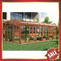 Buy cheap prefab soloar Sunroom,garden tempered glass metal aluminium alloy room,aluminium sun house for villa-super durable! from wholesalers