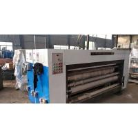 Buy cheap Corrugated Carton Printer Slotter Machine With Customized Color And Speed from wholesalers