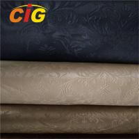Buy cheap All Color Artificial Leather Material For Handbag , PVC Synthetic Leather 20-60M/ROLL product