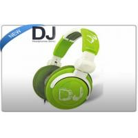 Buy cheap Wired Stereo DJ Headphones with Rotating Ear Cups , with 3.5mm to 6.3mm Adapter Jack product