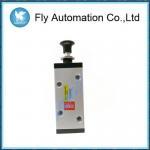 Buy cheap Manual Direction Control Pneumatic Manual Valve Metal Material -10 + 60c from wholesalers