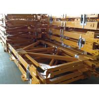 Buy cheap Hot Galvanized Colored Mast Section For Building Hoist / Tower Crane from wholesalers