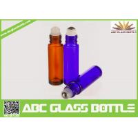 Buy cheap Hot Sale 3ml 5ml 10ml Empty Roll On Glass Bottle With Screw Cap,Custom Samples from wholesalers