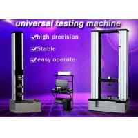 Buy cheap WDW-10 10KN desktop two columns computerized Electronic Universal ultimate Testing Machine from wholesalers