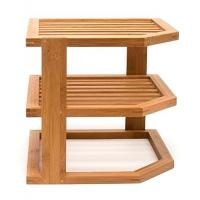 Buy cheap Wholesale kitchen bamboo 3 tier dish drainer rack from wholesalers